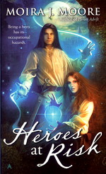 nr. 4: Heroes at Risk - TILBUD (så længe lager haves, der tages forbehold for udsolgte varer) (Moore, Moira J.)