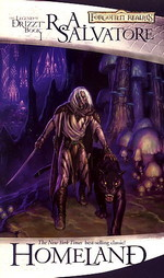 Legend of Drizzt, The nr. 1: Homeland (af R.A.Salvatore) (Forgotten Realms)