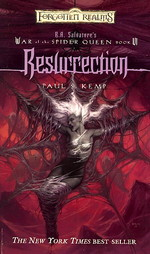 R.A.Salvatore's War of the Spider Queen nr. 6: Resurrection (af Paul S. Kemp) (Forgotten Realms)