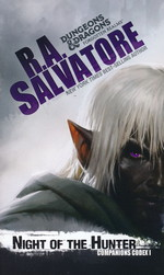 Companions Codex nr. 1: Night of the Hunter (af R. A. Salvatore) (Forgotten Realms)