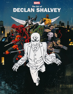 Marvel MonographArt of Declan Shalvey, The (Art Book) (Marvel   )