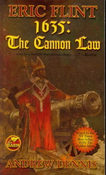 1632 nr. 5: 1635: The Cannon Law (m. Andrew Dennis) (Flint, Eric)