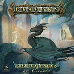 nr. 2021: Dragons 2021 16-Month Calendar (Cabral, Ciruelo)