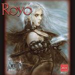 nr. 2021: Fantasy Art of Royo 2021 Wall Calendar (Kalender) (Royo, Luis)