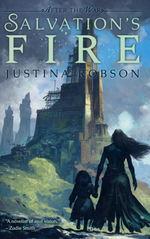 After The War (TPB) nr. 2: Salvation's Fire (Skrevet af Justine Robson)  - TILBUD (så længe lager haves, der tages forbehold for udsolgte varer) (Tchaikovsky, Adrian)