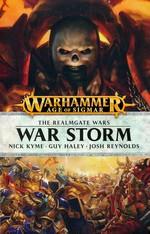 Age of Sigmar: The Realmgate Wars (TPB) nr. 1: War Storm (af Nick Kyme, Guy Haley og Josh Reynolds) - TILBUD (så længe lager haves, der tages forbehold for udsolgte varer) (Warhammer)