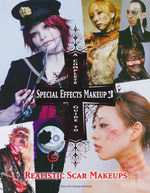 Complete Guide to Special Effects Makeup, A nr. 3: Realistic Scar Makeups (Tokyo SFX)