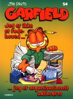 Garfield (Dansk) nr. 54: Jeg er ikke et rodehoved….