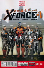 Cable and X-Force - Marvel Now nr. 1.
