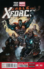 Cable and X-Force - Marvel Now nr. 3.