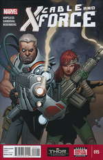 Cable and X-Force - Marvel Now nr. 15.