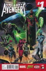 Avengers, Uncanny, vol. 2 nr. 1.