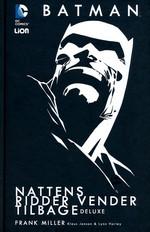 Batman (Dansk) (HC): Nattens Ridder vender tilbage - Deluxe.