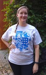 Fantask Jubilæums T-Shirt: 45 år - Large.