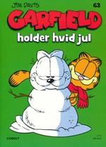 Garfield (Dansk) nr. 63: Garfield holder hvid jul.