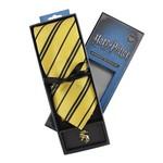 Harry Potter Merchandise: Tie & Metal Pin Deluxe Box Hufflepuff.
