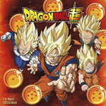Dragon Ball Super (Kalender) nr. 2019: Dragon Ball Super 2019 Calendar.