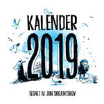 Jon Skræntskov: Kalender 2019.