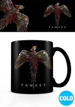 Harry Potter Merchandise: Fawkes Heat Change Mug.