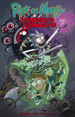 Rick and Morty (TPB): Rick and Morty vs. Dungeons & Dragons.