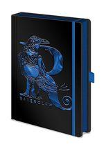 Harry Potter Merchandise: Notebook - Ravenclaw Foil (A5).
