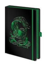 Harry Potter Merchandise: Notebook - Slytherin Foil (A5).