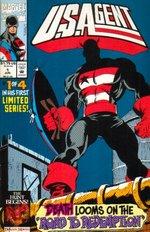 U.S. Agent (mini-serie på 4 numre) nr. 1.