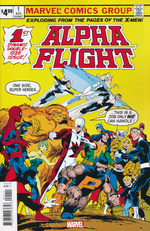 Alpha Flight nr. 1: 2019 Facsimile Edition.