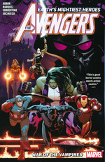 Avengers (TPB): Avengers by Jason Aaron Vol.3: War of the Vampires.