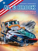 Al & Brock Samlealbum (Dansk) (HC) nr. 1: Al og Brock: Fantomgangsterne og Sabotage.