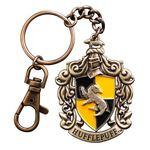 Harry Potter Merchandise: Metal Keychain Hufflepuff 5 cm.