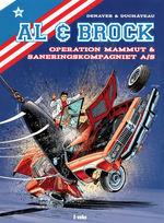 Al & Brock Samlealbum (Dansk) (HC) nr. 2: Operation Mammut og Saneringskompagniet A/S.