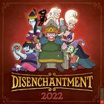Disenchantment (Kalender) nr. 2022: Disenchantment 2022 Wall Calendar.