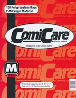 ComiCare PP Bags: Magazine Size (100pc).