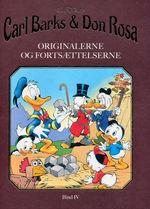 Anders And (HC) nr. 4: Carl Barks & Don Rosa - Originalerne og fortsættelserne - Bind 4.