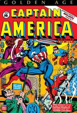 Captain America (HC): Golden Age Captain America Omnibus Vol.2 Avison Variant.
