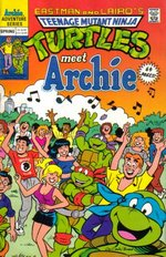 T. M. N. Turtles meet Archie.