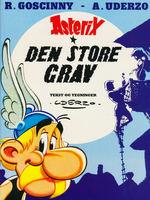 Asterix nr. 25: Store grav, Den.