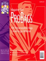 Comic Defense Probags: Magazine Size (100).