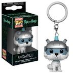 Pop! Figures - Keychain: Rick and Morty Pocket - Snowball (1)