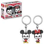 Pop! Figures - Keychain: Disney Pocket - Mickey & Minnie Keychain 2-Pack (2)