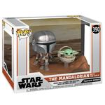 Pop! Figures: Star Wars The Mandalorian Nr. 390 - The Mandalorian with the Child (1)