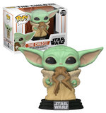 Pop! Figures: Star Wars The Mandalorian Nr. 379 - The Child with Frog (1)