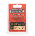 WARHAMMER UNDERWOLRDS: Beastgrave - Morgok's Krushas Dice Pack (0)
