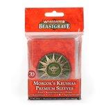 WARHAMMER UNDERWOLRDS: Beastgrave - Morgok's Krushas Premium Sleeves (0)