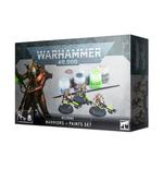 CITADEL PAINTSET: Necrons Warriors and Paints Sets (3)