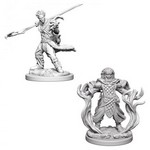 D&D NOLZURS MARVELOUS UNPAINTED MINIS: Human Male Druid (2)