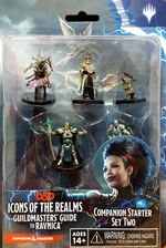 DUNGEONS & DRAGONS - ICONS: Guildmaster`s Guide to Ravnica Companion Starter Two (Set 10) (5)