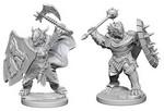 D&D NOLZURS MARVELOUS UNPAINTED MINIS: Dragonborn Male Paladin (2)