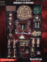 DUNGEONS & DRAGONS - ICONS: Waterdeep: Dungeon of the Mad Mage Halaster`s Lab Preimum Set (19)